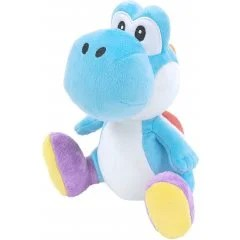 SUPER MARIO ALL STAR COLLECTION PLUSH: AC47 LIGHT BLUE YOSHI (SMALL) San-ei Boeki
