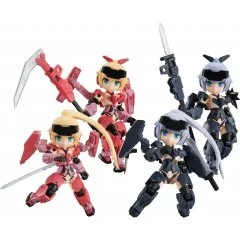 DESKTOP ARMY FRAME ARMS GIRL KT-323F JINRAI SERIES (SET OF 4 PIECES) Mega House