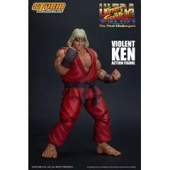 ULTRA STREET FIGHTER II THE FINAL CHALLENGERS PRE-PAINTED ACTION FIGURE: VIOLENT KEN Storm Collectibles