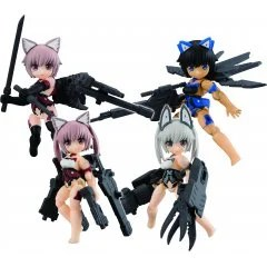DESKTOP ARMY FRAME ARMS GIRL KT-322F INNOCENTIA SERIES VER. 1.2 (SET OF 4 PIECES) Mega House