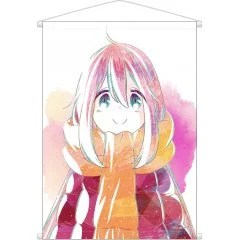 YURUCAMP ANI-ART WALL SCROLL: KAGAMIHARA NADESHIKO armabianca