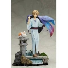 NATSUME'S BOOK OF FRIENDS THE MOVIE TIED TO THE TEMPORAL WORLD 1/8 SCALE PRE-PAINTED FIGURE: NATSUME TAKASHI AND NYANKO-SENSEI Aniplex