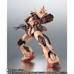 ROBOT SPIRITS SIDE MS MOBILE SUIT VARIATIONS: MS-06D ZAKU DESERT TYPE CARACAL CORPS VER. A.N.I.M.E. Tamashii (Bandai Toys)