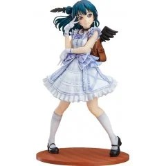 LOVE LIVE! SUNSHINE!! 1/7 SCALE PRE-PAINTED FIGURE: YOSHIKO TSUSHIMA BLU-RAY JACKET VER. [GOOD SMILE COMPANY ONLINE SHOP LIMITED VER.] With Fans!