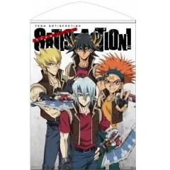 YU-GI-OH! 5D'S B2 WALL SCROLL: TEAM SATISFACTION NO MANZOKU SHIYOUZE! (RE-RUN) Cospa