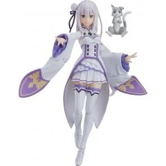 FIGMA NO. 419 RE:ZERO -STARTING LIFE IN ANOTHER WORLD-: EMILIA [GOOD SMILE COMPANY ONLINE SHOP LIMITED VER.] Max Factory