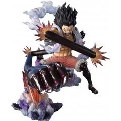 FIGUARTS ZERO ONE PIECE: MONKEY D. LUFFY FOURTH GEAR -SNAKEMAN- Tamashii (Bandai Toys)