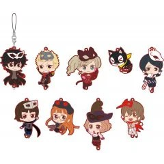 PERSONA5 THE ANIMATION RUBBER STRAP COLLECTION (SET OF 9 PIECES) Movic