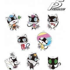 PERSONA 5 TRADING MORGANA ACRYLIC KEYCHAIN COSTUME CHANGE VER. (SET OF 8 PIECES) armabianca