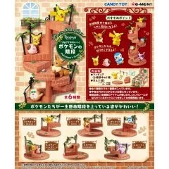 POKEMONTSUNAGETE KAWAII! POKEMON'S STEPS (SET OF 6 PIECES) Re-ment