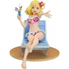 LOVE LIVE! SUNSHINE!! 1/7 SCALE PRE-PAINTED FIGURE: MARI OHARA BLU-RAY JACKET VER. [GSC ONLINE SHOP EXCLUSIVE VER.] With Fans!