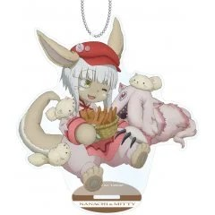 MADE IN ABYSS ORIGINAL ILLUSTRATION ACRYLIC STAND KEYCHAIN: LEPUS NANACHI armabianca