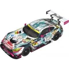 HATSUNE MIKU GT PROJECT 1/18 SCALE MINIATURE CAR: GOOD SMILE HATSUNE MIKU AMG 2018 FINAL RACE VER. Good Smile Racing