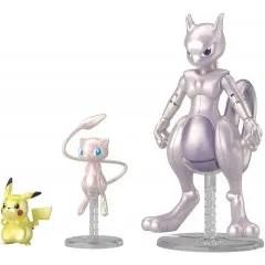 POKEMON PLASTIC MODEL COLLECTION: MEWTWO & MEW & PIKACHU SET Bandai Spirits