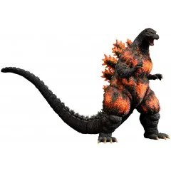 TOHO 30CM SERIES YUJI SAKAI COLLECTION GODZILLA VS. DESTOROYAH: GODZILLA (1995) LANDING IN HONG KONG Plex