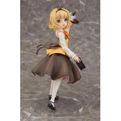 IS THE ORDER A RABBIT?? 1/7 SCALE PRE-PAINTED FIGURE: SYARO (CAFE STYLE) Plum