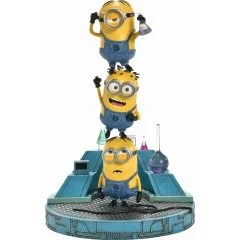 DESPICABLE ME PRIME COLLECTIBLE FIGURE: MINIONS IN LABORATORY Prime 1 Studio