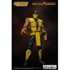 MORTAL KOMBAT 1/12 SCALE PRE-PAINTED ACTION FIGURE: SCORPION VER.2 Storm Collectibles