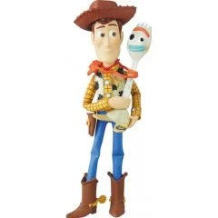 ULTRA DETAIL FIGURE NO. 500 TOY STORY 4: WOODY & FORKY Medicom