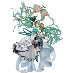 CHARACTER VOCAL SERIES 01 HATSUNE MIKU 1/7 SCALE PRE-PAINTED FIGURE: HATSUNE MIKU MEMORIAL DRESS VER. Good Smile
