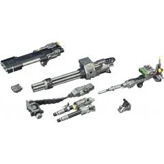 ZOIDS HMM 1/72 SCALE MODEL KIT: CUSTOMIZE PARTS BEAM GATLING SET (RE-RUN) Kotobukiya