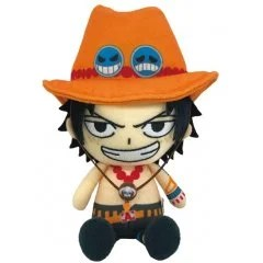 ONE PIECE CHIBI PLUSH: PORTGAS D. ACE Tamashii (Bandai Toys)