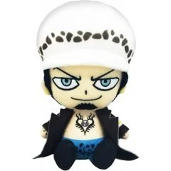 ONE PIECE CHIBI PLUSH: TRAFALGAR LAW Tamashii (Bandai Toys)