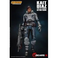 GEARS 5 1/12 SCALE PRE-PAINTED ACTION FIGURE: KAIT DIAZ ARCTIC ARMOR Storm Collectibles
