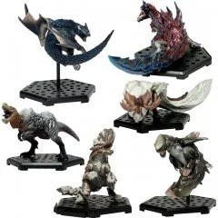 CAPCOM FIGURE BUILDER MONSTER HUNTER STANDARD MODEL PLUS VOL. 15 (SET OF 6 PIECES) Capcom