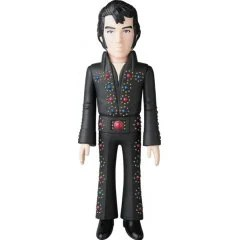 VINYL COLLECTIBLE DOLLS: ELVIS PRESLEY BLACK VER. Medicom