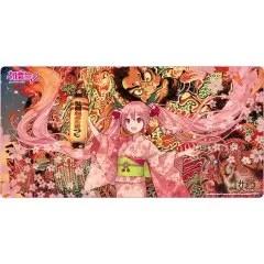 HIROSAKI NEPUTA FESTIVAL X HATSUNE MIKU SAKURA MIKU PLAY MAT ILLUSTRATION BY IXIMA Chara-Ani