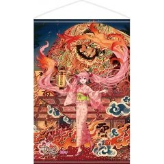 HIROSAKI NEPUTA FESTIVAL X HATSUNE MIKU SAKURA MIKU WALL SCROLL ILLUSTRATION BY IXIMA Chara-Ani