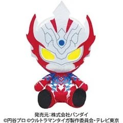 ULTRA HERO ULTRAMAN TAIGA CHIBI PLUSH: ULTRAMAN TAIGA TRI-STRIUM Tamashii (Bandai Toys)