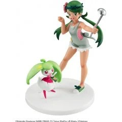 G.E.M. SERIES POCKET MONSTERS PRE-PAINTED PVC FIGURE: MALLOW & STEENEE Mega House