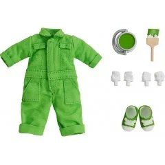 NENDOROID DOLL: OUTFIT SET (COLORFUL COVERALL - LIME GREEN) Good Smile