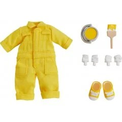 NENDOROID DOLL: OUTFIT SET (COLORFUL COVERALL - YELLOW) Good Smile