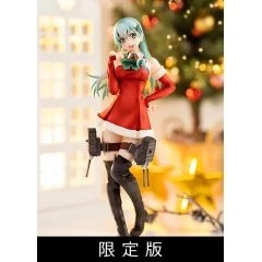 KANTAI COLLECTION -KANCOLLE- 1/7 SCALE PRE-PAINTED FIGURE: SUZUYA XMAS MODE [LIMITED EDITION] Amakuni