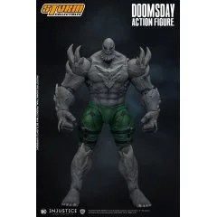 INJUSTICE GODS AMONG US 1/12 SCALE PRE-PAINTED ACTION FIGURE: DOOMSDAY Storm Collectibles
