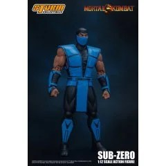 MORTAL KOMBAT 1/12 SCALE PRE-PAINTED ACTION FIGURE: SUB-ZERO Storm Collectibles