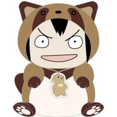 KEEP YOUR HANDS OFF EIZOUKEN! KIGURUMI PLUSH: ASAKUSA'S RACCOON DOG Good Smile