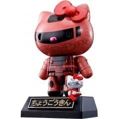 CHOGOKIN CHAR'S CUSTOM ZAKU II HELLO KITTY Tamashii (Bandai Toys)