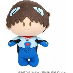 REBUILD OF EVANGELION YORINUI PLUSH: SHINJI IKARI PLUG SUIT VER. MovicREBUILD OF EVANGELION YORINUI PLUSH: SHINJI IKARI PLUG SUIT VER. Movic
