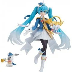 FIGMA EX-060 CHARACTER VOCAL SERIES 01 HATSUNE MIKU: SNOW MIKU SNOW PARADE VER. [GSC ONLINE SHOP EXCLUSIVE VER.] Max Factory