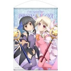 FATE/KALEID LINER PRISMA ILLYA THE MOVIE: SEKKA NO CHIKAI B2 WALL SCROLL: MIYU & ILLYA (RE-RUN) Cospa