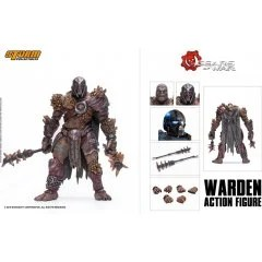 GEARS OF WAR 1/12 SCALE PRE-PAINTED ACTION FIGURE: WARDEN Storm Collectibles