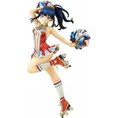 SSSS.GRIDMAN 1/7 SCALE PRE-PAINTED FIGURE: RIKKA TAKARADA CHEERLEADER STYLE QuesQ