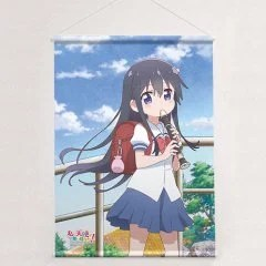 WATASHI NI TENSHI GA MAIORITA! ORIGINAL ILLUSTRATION B2 WALL SCROLL: HANA SHIROSAKI Curtain Damashii