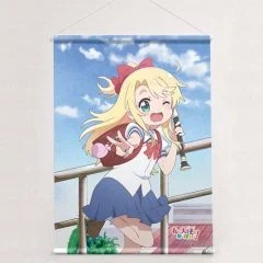WATASHI NI TENSHI GA MAIORITA! ORIGINAL ILLUSTRATION B2 WALL SCROLL: NOAH HIMESAKA Curtain Damashii