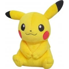 POCKET MONSTERS ALL STAR COLLECTION PP165: PIKACHU FEMALE FORM (S) San-ei Boeki