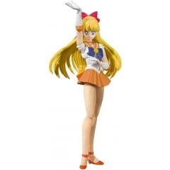 S.H.FIGUARTS SAILOR MOON: SAILOR VENUS -ANIMATION COLOR EDITION- Tamashii (Bandai Toys)